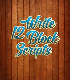 #6 untuk Write12BlockScripts oleh mariusadrianrusu