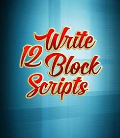 #8 untuk Write12BlockScripts oleh mariusadrianrusu