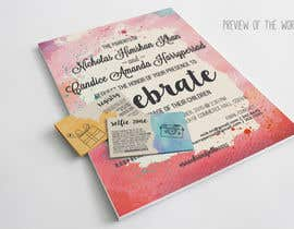 #8 untuk Design a beach theme wedding invitation oleh afiretami