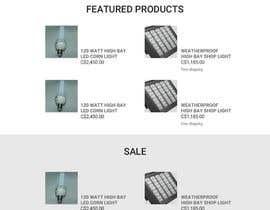 RomartDev tarafından Design a Website Mockup forhttp://extremeledlightz.ca/ için no 14
