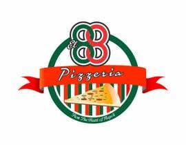 FERNANDOX1977 tarafından Design a Logo for Pizzeria El 88 için no 103