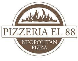 #92 untuk Design a Logo for Pizzeria El 88 oleh AlexCapp74