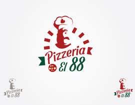 #153 untuk Design a Logo for Pizzeria El 88 oleh ArtRanger