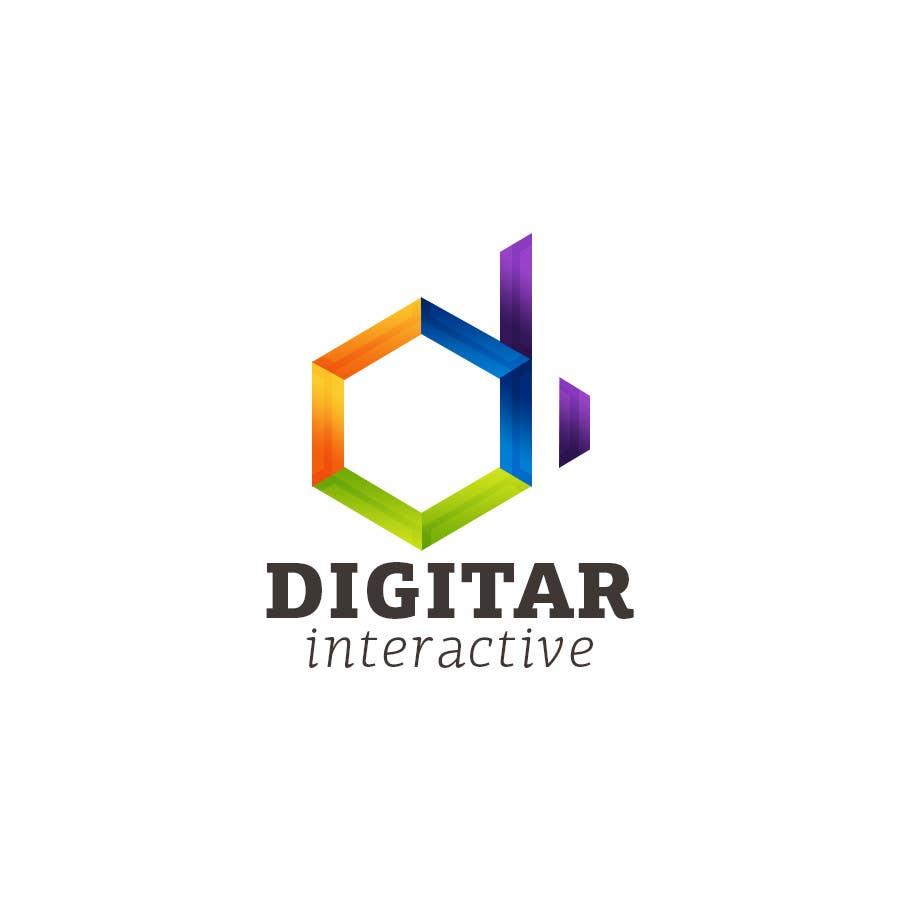 #10 for Design a Logo for Digitar Interactive by upbeatdesignsnet