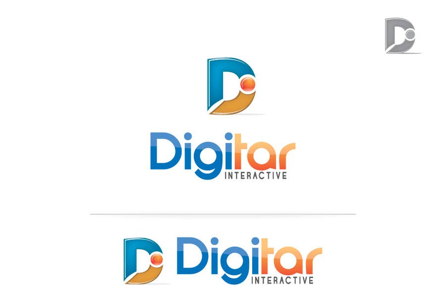 #95 for Design a Logo for Digitar Interactive by ijimlyn