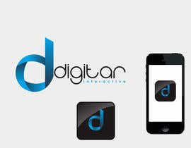 nº 108 pour Design a Logo for Digitar Interactive par Aski16