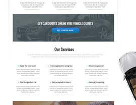 #26 untuk Design a landing page Mockup for Car Quotes Online oleh webmastersud