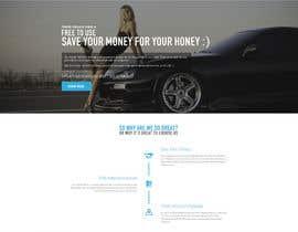 krasotina tarafından Design a landing page Mockup for Car Quotes Online için no 38