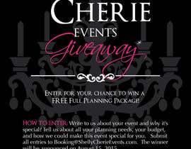 sunsum tarafından Design a Flyer for Shelly Cherie Events için no 7