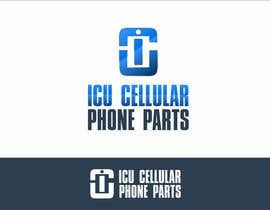 #8 untuk Design a Logo for ICU Cellular Phone Parts oleh edso0007
