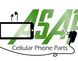 KnowledgeShine tarafından Design a Logo for ASAP Cellular Phone Parts için no 3