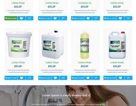 greenarrowinfo tarafından Design a Website Mockup for Cleaning Chemical Brand için no 14