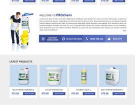 seguro tarafından Design a Website Mockup for Cleaning Chemical Brand için no 3