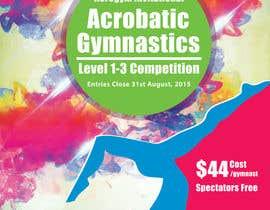 #9 untuk Design a Flyer for An Acrobatic Gymnastics Invitational Competition oleh MrDesi9n