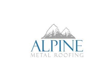 liliportfolio tarafından Design a Logo for Alpine Metal Roofing için no 2