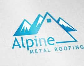 saif95 tarafından Design a Logo for Alpine Metal Roofing için no 58