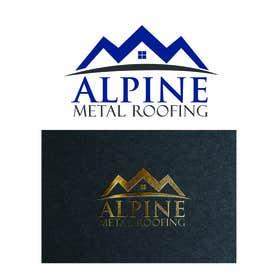 Jhapz21 tarafından Design a Logo for Alpine Metal Roofing için no 4