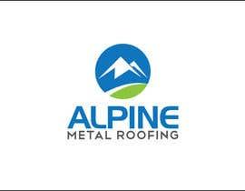 iakabir tarafından Design a Logo for Alpine Metal Roofing için no 25