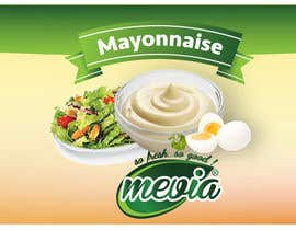 #18 untuk Design a label for Mayonnaise in jars oleh WGraphicDesigns