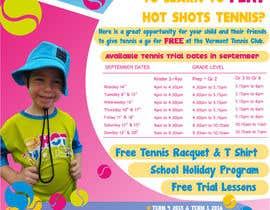 #26 untuk Design a Flyer for Tennis Club oleh cristinapaduraru