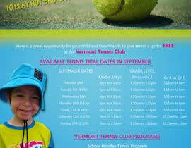 #20 untuk Design a Flyer for Tennis Club oleh Hadjayedkhalil