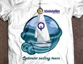 Mery1996 tarafından T-Shirt Design for a Sailing Club için no 14