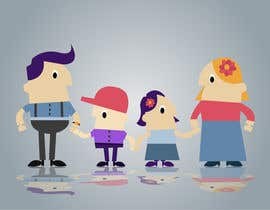 Indiasearchpages tarafından Design a cartoon family için no 32