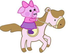 shantallrueda tarafından I want a cartoon similar to Peppa Pig(not the same, i dont want to infringe copyright) on a Hourse için no 10