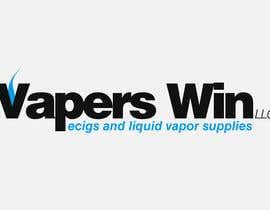 #17 untuk Design a Logo for vapors win LLC oleh sergiundr