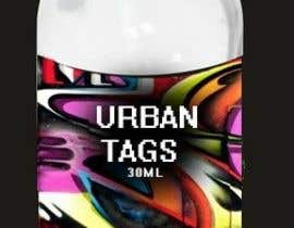 "#44 untuk Design a unique logo for a new e-liquid brand - ""Urban Tags"" oleh isaidheywhatsup"