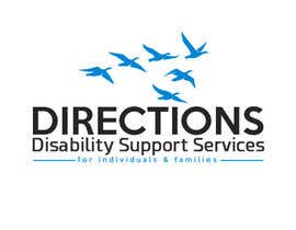 #506 untuk Design a Logo for Directions Disability Support Services oleh sinzcreation