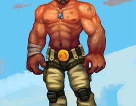 #28 untuk Create a muscular Military character/mascot. oleh slashcl