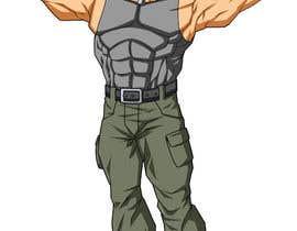 #29 untuk Create a muscular Military character/mascot. oleh egrencio