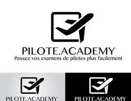 #2 untuk Concevez un logo pour un site d'examens en ligne de pilotes d'avion oleh katoubeaudoin