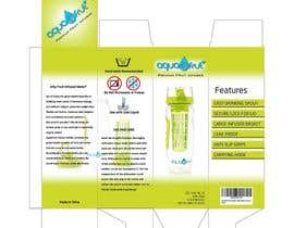 anankzeptyan tarafından Create a packaging box for a water bottle için no 23