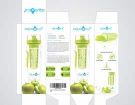 creatrixdesign tarafından Create a packaging box for a water bottle için no 13