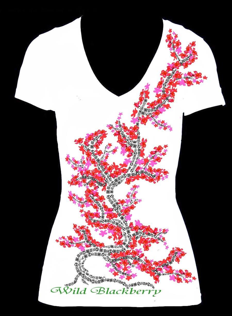 Penyertaan Peraduan #10 untuk Artistic Shirt Design