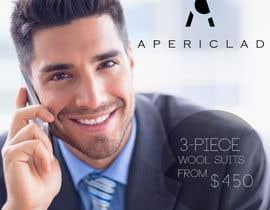 #60 для Design a billboard to promote a Luxury Men's Suit and Shirt brand. от boris03borisov07