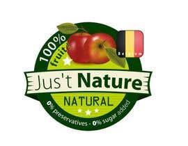 "#23 untuk Design a logo for our fruit juice brand: ""Nature Jus't"" oleh delim82"
