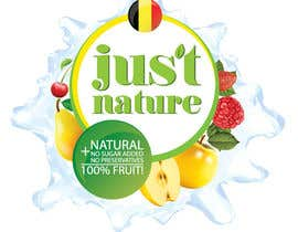 "dilpora tarafından Design a logo for our fruit juice brand: ""Nature Jus't"" için no 80"