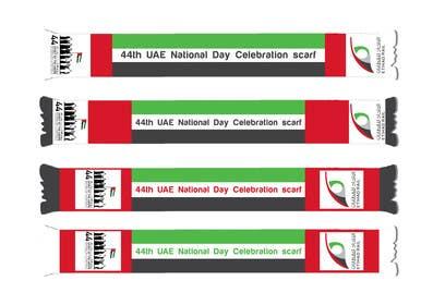 #11 untuk Design UAE National Day Scarf oleh PyramidsGraphic
