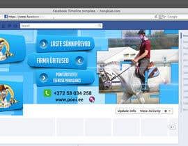 akram1293 tarafından Design a Facebook Timeline Banner for Poni.ee için no 23