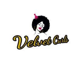 #15 untuk Velvet Curls logo oleh rohan4lyphe