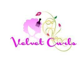 desislavsl tarafından Velvet Curls logo için no 10