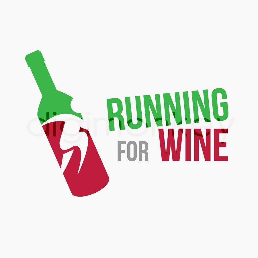Bài tham dự cuộc thi #                                        44                                      cho                                         Design a Logo for Runnin for Wine