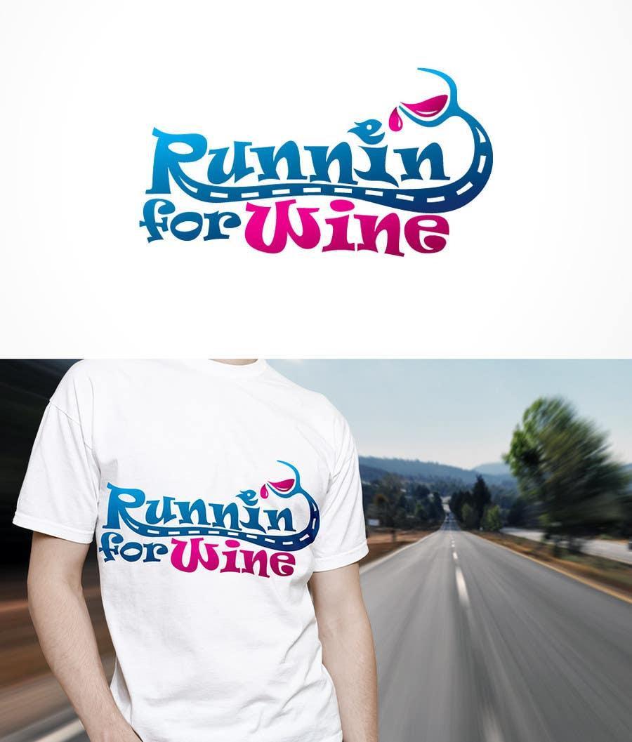 Bài tham dự cuộc thi #                                        32                                      cho                                         Design a Logo for Runnin for Wine
