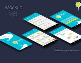 karavas tarafından Design an App Mockup for A Goal App için no 8