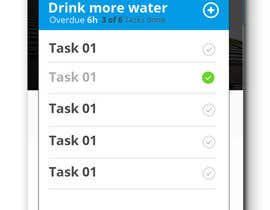 wathsalagamage tarafından Design an App Mockup for A Goal App için no 22