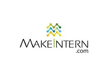 #21 untuk Design a Logo for www.makeintern.com oleh linadenk