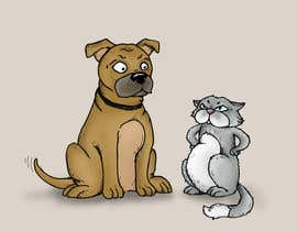 #33 untuk Cat and Dog Cartoon oleh Dilance